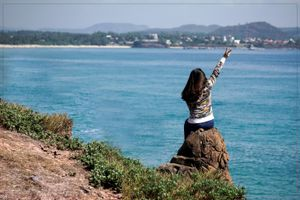 'Sống ảo' đẹp mê hồn ở duyên hải nam Tuy An