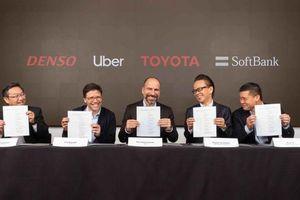 Toyota, Softbank rót 1 tỉ USD cho xe tự lái của Uber