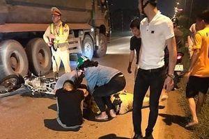 Thiếu niên 16 tuổi tông xe vào Thiếu tá CSGT đang làm nhiệm vụ