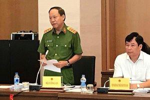 Đại diện Bộ Công an, Viện kiểm sát nhân dân tối cao giải trình vụ án Lê Phú Cự hiếp dâm