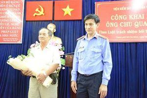 Viện Kiểm sát nhân dân TP.HCM tổ chức buổi công khai xin lỗi ông Chu Quang Hưng