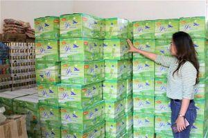 Gia Lai tịch thu hàng nghìn chai nước nha đam vi phạm bản quyền