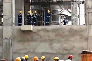 Tai nạn khi thi công nhà máy xi măng 5.000 tỷ, 1 người tử vong