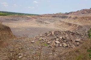 Khai thác Mỏ Núi Thơm, tỉnh Bà Rịa-Vũng Tàu: Chính quyền nhiều lần 'đau đầu'