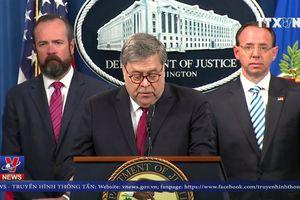 Mỹ công bố toàn văn báo cáo của Công tố viên đặc biệt Mueller