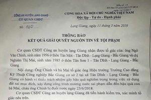 Hé lộ nguyên nhân không khởi tố vụ án 3 em nhỏ bị chết đuối ở Bắc Giang?