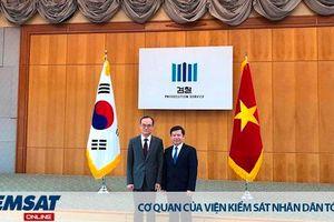 Chuyến thăm và làm việc tại Hàn Quốc của Viện trưởng Viện kiểm sát nhân dân tối cao Lê Minh Trí