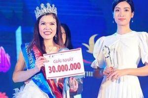 Bế Thị Băng giành ngôi vị Hoa khôi 'Vẻ đẹp Vầng trăng khuyết' 2019