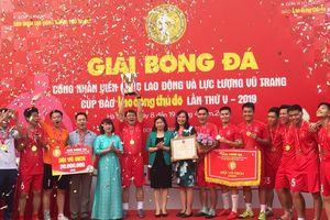 Đại học Thủy Lợi vô địch giải bóng đá cúp báo Lao động Thủ đô 2019