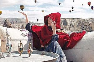 Lạc giữa vùng đất huyền thoại, như xứ thần tiên ở Thổ Nhĩ Kỳ
