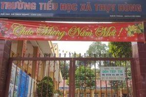 Vì sao không khởi tố vụ giáo viên bị tố đánh học sinh ở Lạng Sơn?