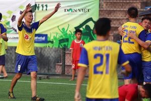 Giải bóng đá Báo NTNN/Dân Việt: Vượt qua Power Play, chủ nhà biến ĐS&PL thành cựu vô địch
