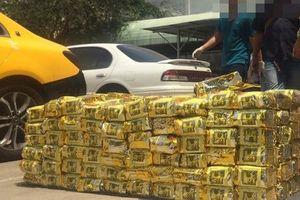 Hành trình truy đuổi, khám xét 3 ôtô chở 1,1 tấn ma túy ở TP HCM