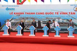 Khánh thành cảng biển quốc tế đầu tiên ở Bình Thuận