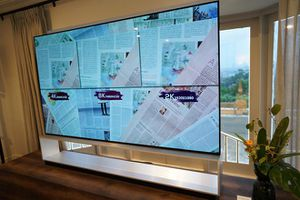 LG đem loạt TV OLED 8K mới về Việt Nam