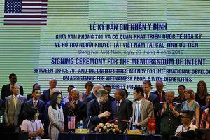 Việt Nam - Hoa Kỳ ký bản ghi nhận hỗ trợ người khuyết tật