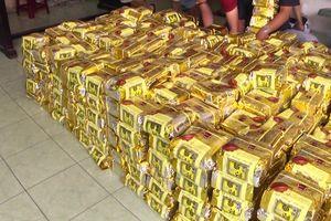 Giây phút kịch tính Công an TPHCM bắt giữ 1,1 tấn ma túy