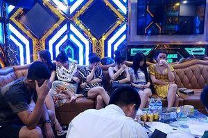 Đột kích nhiều karaoke, khách sạn ở Quảng Bình, phá chuyên án ma túy và mại dâm