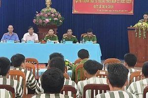 TPHCM: Tha tù trước hạn cho 25 phạm nhân