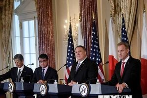 Cuộc họp 2+2: Mỹ sẽ bảo vệ Nhật Bản khỏi các cuộc tấn công mạng
