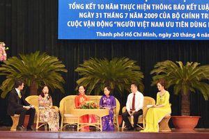 Tập trung đổi mới công nghệ, nâng cao chất lượng hàng Việt Nam