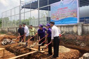 Khởi công xây dựng nhà vệ sinh an toàn cho trẻ em ở Đắk Lắk