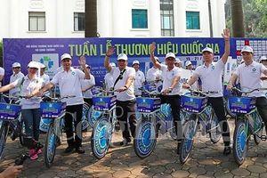 Đạp xe Diễu hành Thương hiệu Quốc Gia: Lan tỏa giá trị thương hiệu Việt