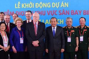 Khởi động dự án xử lí nhiễm độc dioxin khu vực sân bay Biên Hòa