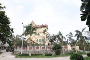 Cận cảnh biệt thự hàng nghìn mét vuông xây dựng trái phép của cựu TGĐ Gang thép Thái Nguyên vừa bị bắt