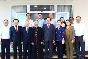 Đồng bào Công giáo có nhiều hoạt động hướng tới Đại hội MTTQVN