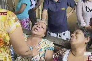 Hiện trường vụ nổ bom đẫm máu tại Sri Lanka