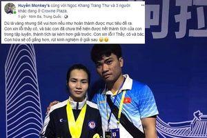Nữ lực sỹ Việt Nam xin lỗi dù đoạt cả 3 HCV châu Á