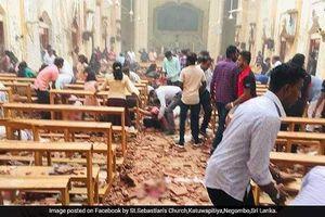 Nổ liên tiếp ở nhà thờ Sri Lanka làm hơn 80 người bị thương