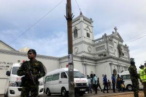 Nổ ở nhà thờ Sri Lanka làm chết 129 người