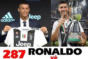 Ronaldo, chức vô địch Serie A và các kỷ lục
