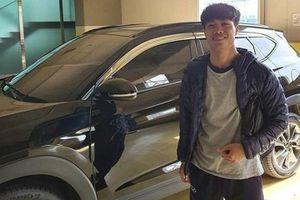 Công Phượng được cấp xe riêng tại Hàn Quốc