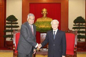 Tổng Bí thư, Chủ tịch Nước Nguyễn Phú Trọng chia buồn với Sri Lanka