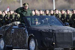 Xe mui trần Aurus của Nga lần đầu lộ diện