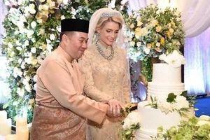 Thêm một thành viên Hoàng gia Malaysia cưới vợ người nước ngoài