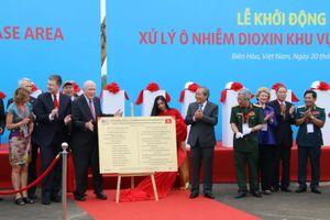 Khởi động xử lý dioxin ở sân bay Biên Hòa