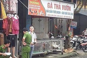 Thái Bình: Điều tra nguyên nhân cái chết của người đàn ông trong ki ốt chợ