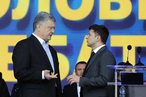 Chi tiết màn 'so găng' nảy lửa trước giờ G giữa ông Poroshenko và Zelensky
