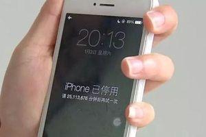 Làm thế nào để mở khóa iPhone, iPad bị vô hiệu hóa?