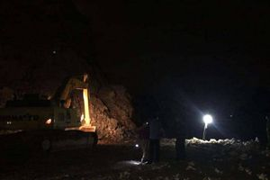 Tìm thấy thi thể công nhân bị vùi trong mỏ đá sau tiếng nổ mìn