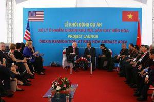 Dự án xử lý dioxin trị giá 390 triệu USD tại sân bay Biên Hòa chính thức khởi động