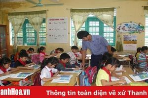 Nâng cao chất lượng dạy và học bậc tiểu học ở huyện Cẩm Thủy