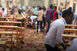 Cảnh tượng hỗn loạn ở Sri Lanka sau loạt đánh bom đẫm máu