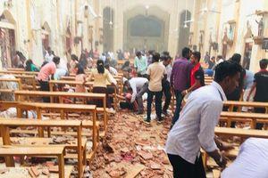 Thương vong tăng vọt trong loạt vụ nổ ở nhà thờ và khách sạn Sri Lanka