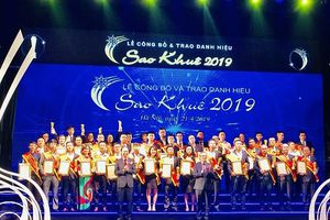 Công ty EVNICT nhận giải thưởng Sao Khuê 2019