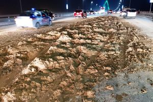 Bùn đất 'bức tử' cầu Nhật Tân